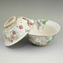 Shimizu yaki seasons flowers tea cups 俊山