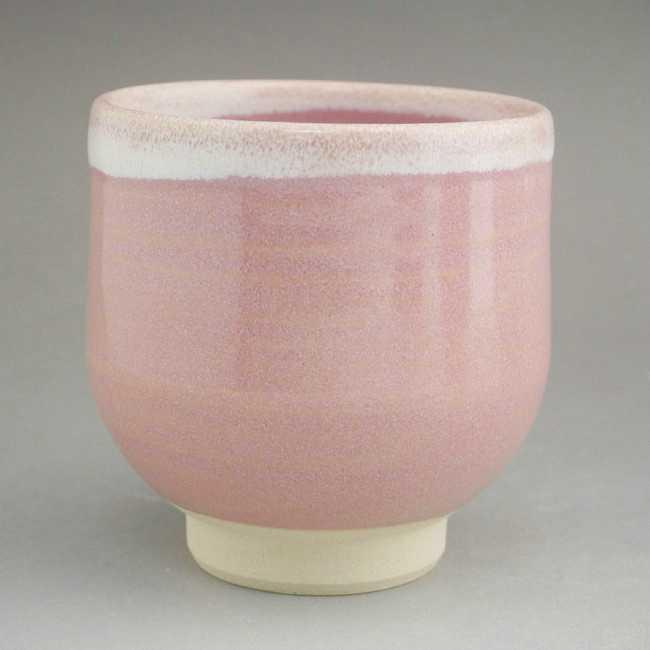 ピンク 湯呑