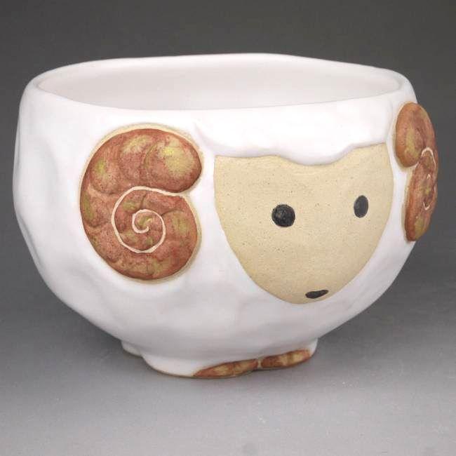 ねこの茶碗