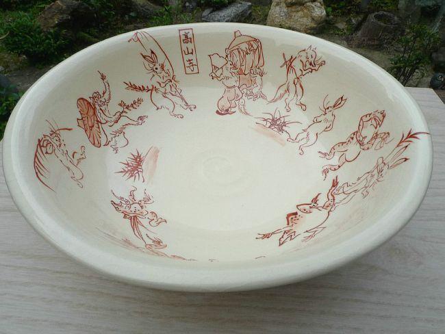 清水正孝洁具野生动物漫画的 aca 糖果壶陶器神仙