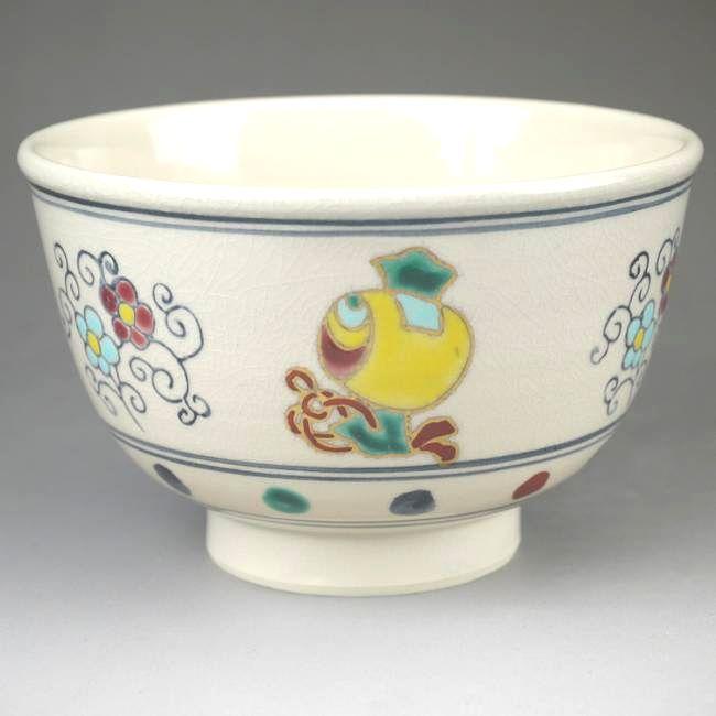 蛇梅花花纹抹茶碗盛图片