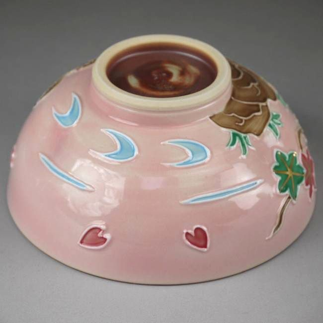 【京焼清水焼】おしどりご飯茶碗 昇峰