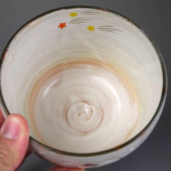 【京焼 清水焼】抹茶碗サンタクロース