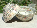 Shimizu yaki kneading embedded cloud Brocade tea cups loading spring