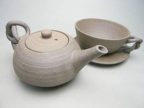 【京焼 清水焼】焼締紅茶セット