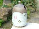 Kiyomizu ware biscuit ware clover flower bowl