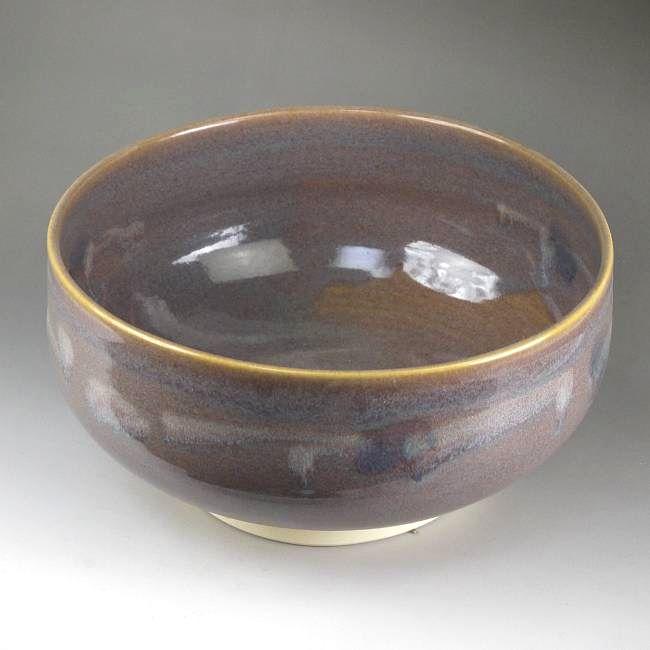 紫散らし 抹茶碗