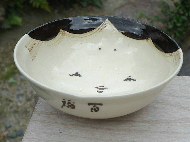 京焼百福ご飯茶碗