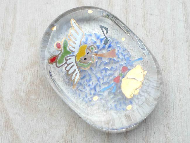 【京焼 清水焼】箸置きサンタクロース 清水焼