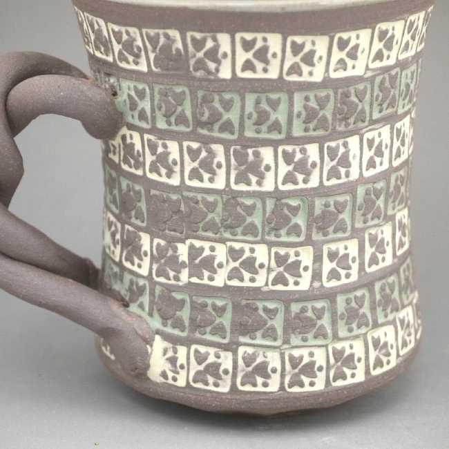 京焼清水焼 焼締マグカップ雅楽