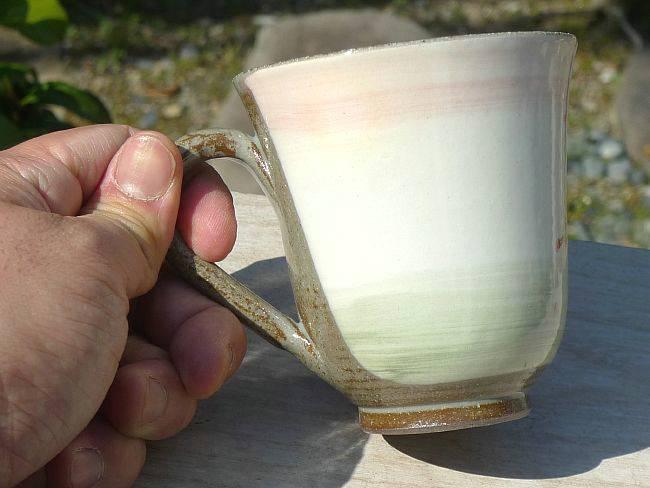 京焼清水焼しだれ桜マグカップ