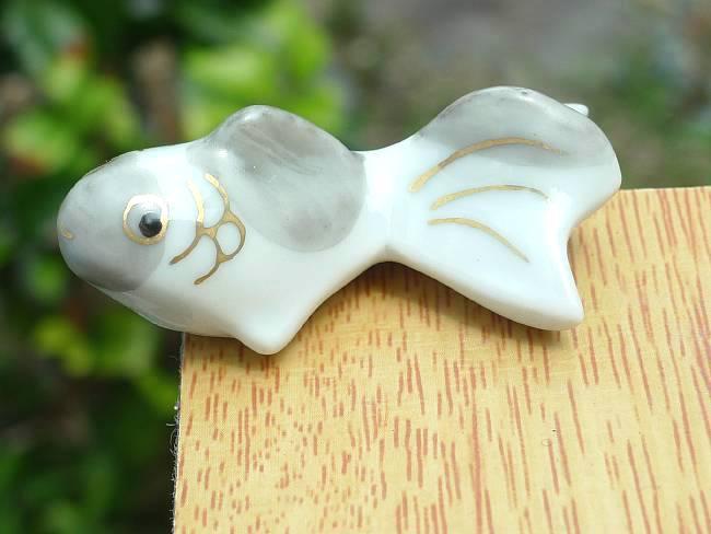 【京焼 清水焼】金魚箸置き