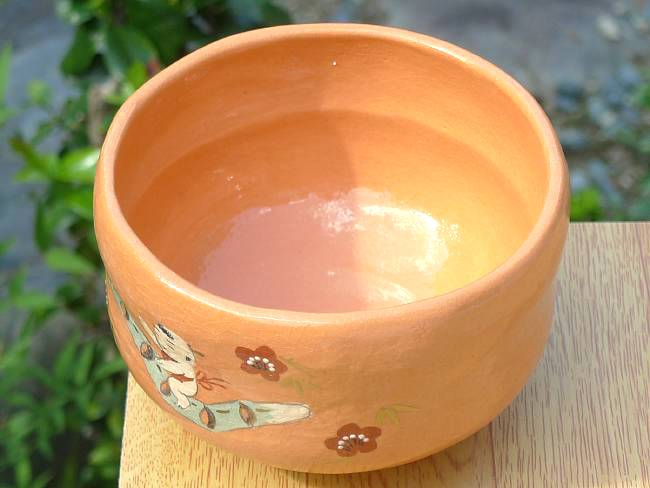 赤楽茶碗 牧童