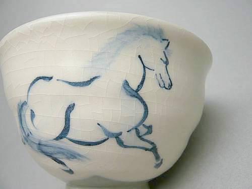 左馬のご飯茶碗