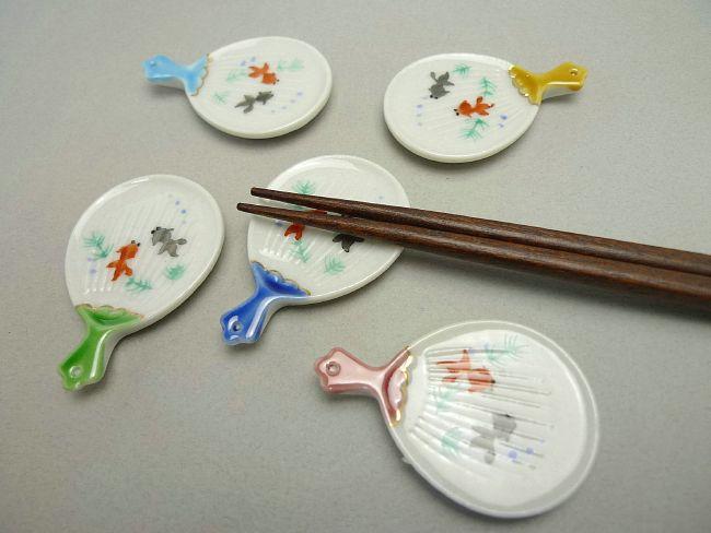 【京焼 清水焼】楓箸置き