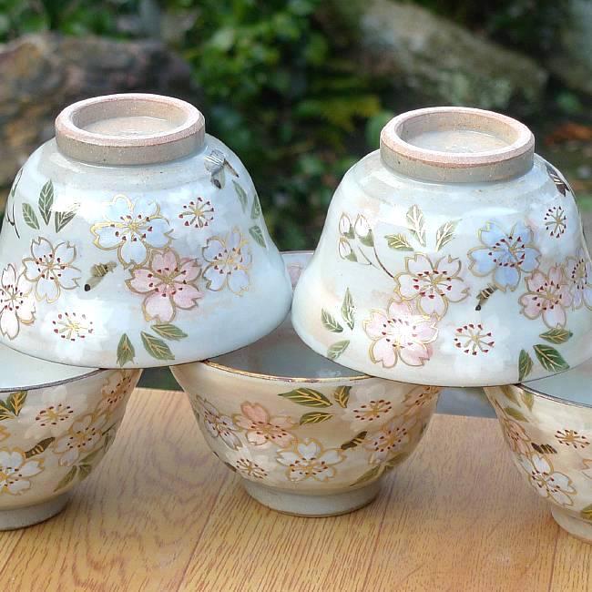 京の秋茶碗