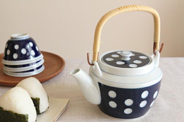 圆点瓷茶壶 no.6 (过滤器)