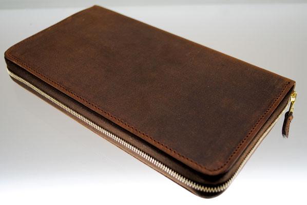 Zip-Around Long Wallet