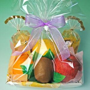 お供え、お見舞いやお祝い、内祝い。どんなご用途にも対応!フルーツ盛り合わせのラッピング