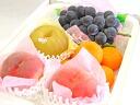 "Luxury fruit set (peach, pear, grape, Mandarin House) ""summer buyer picks set."""