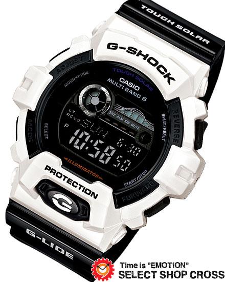【楽天市場】カシオ ソーラー電波時計 Gショックの …