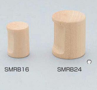 白木丸棒つまみSMRB16
