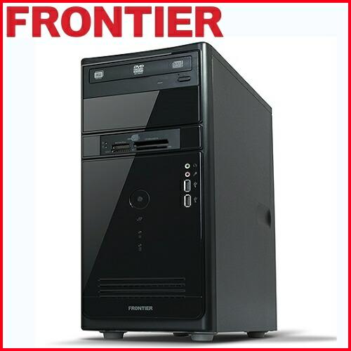 【新品】FRONTIER(フロンティア)デスクトップ Windows10 Core i5-6400 4GB メモリ 500GB HDD FRMXH110/E2【FR】