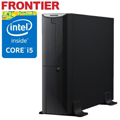 省スペース デスクトップパソコン [Windows10 Core i5-4460 4GBメモリ 500GB HDD] FRBSH810 E2 FRONTIER(フロンティア)【新品】【FR】