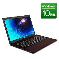 【新品】FRONTIER(フロンティア)15.6型 ノートパソコン Windows10 Core i7-6700HQ 8GB メモリ 250GB SSD→275GBへアップ 無線LAN FRNZHM170/E5【FR】