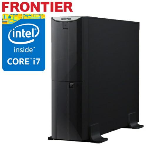 省スペース デスクトップパソコン [Windows10 Core i7-4790 4GBメモリ 500GB HDD] FRBSH810 E15 FRONTIER(フロンティア)【新品】【FR】