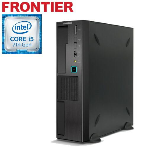 【新品】FRONTIER(フロンティア)省スペース Windows10 Core i5-6400 4GBメモリ 1TB HDD FRFSH110/E9【FR】