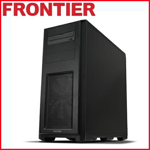 【新品】FRONTIER(フロンティア)デスクトップ Windows10 Core i7-7700 16GBメモリ 512GB NVMe SSD 2TB HDD GeForce GTX1080 FRGBZ270/E3【FR】