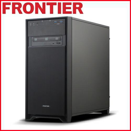 【新品】FRONTIER(フロンティア)デスクトップ Windows10 Core i7-7700 16GBメモリ 256GB NVMe SSD 2TB HDD GeForce GTX1070 FRGEZ270/E3【FR】