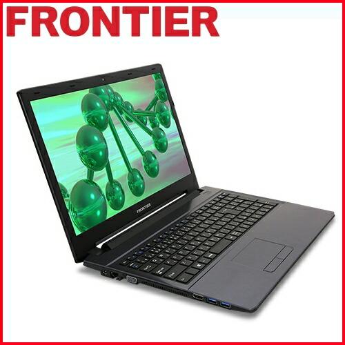 【新品】FRONTIER(フロンティア)15.6型 ノートパソコン Windows10 Pentium 4405U 4GB メモリ 500GB HDD 無線LAN FRNLP440/E1【FR】