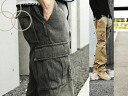 Urgent third anniversary Memorial time sale ∞ KAKEYA JEANS ∞ pre-made in japan-solid straight cargo pants [カラーヘリンボン]