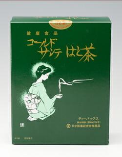 国産発芽はと麦原料のゴールドサンテはと茶