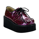 3 inches of [#SH-CREP-208] ゴスロリ / flats lady's high-heeled shoes rubber sole shoes