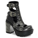 3.5 inches of [#SH-SINISTER-61] ゴスロリ / flats lady's high-heeled shoes Lady's boots / import shoes [there is big size]