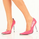4.5 Inch heels and ピンヒールレディース pumps and imports shoes