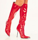 [#SH-HEAP-2010] 4.5 inch heels and pinherladies boots and imported shoes [large size and] /red/10-12/boots