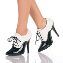 5 inches of high-heeled shoes / pin heel Lady's booties
