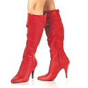4 inches of high-heeled shoes / pin heel knee high boots / import shoes