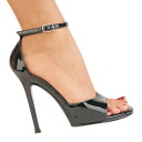 4.5 inches of high-heeled shoes / pin heel Lady's sandals / import shoes