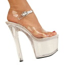 6.75 inches of high-heeled shoes / pin heel Lady's sandals / import shoes
