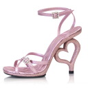 [#10879sale] 4.5-inch heart-highlladies sandals and imports shoes US7(24cm)11.5cm