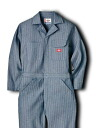 DICKIES ( Dickies ) FISHER STRIPE COVERALL-フィッシャーストライプ covers all