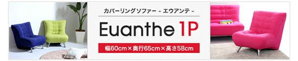 カバーリングソファー2P【Euanthe-エウアンテ-】(洗える 二人掛け コンパクト 一人暮らし)