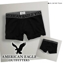 Rakuten champions sale, victory Memorial セールアメリカンイーグル men's Boxer shorts AE LOW RISE TRUNK true black (0234-3028) (SMLXL)