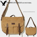 Rakuten champions sale, victory Memorial セールアメリカンイーグル mens Messenger bag AE BUCKLED MESSENGER BAG khaki (0501-3218)