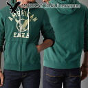 ★ 2 / 6 (money) in stock book! ★ new year 2015! American Eagle AE men's parka AE Signature Full-Zip Hoodie raged green (0196-9153) (S, M, L, XL, XXL) (at more than 10,800 yen,, in large size, 100% genuine, new, cheapest Rakuten to challenge! )